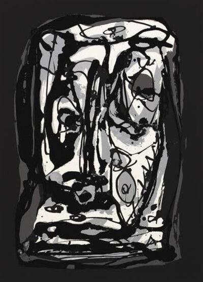 Antonio Saura, 'Rostro III', 1982