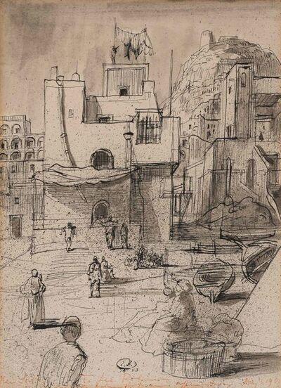 Eugene Berman, 'Town Square', 1938