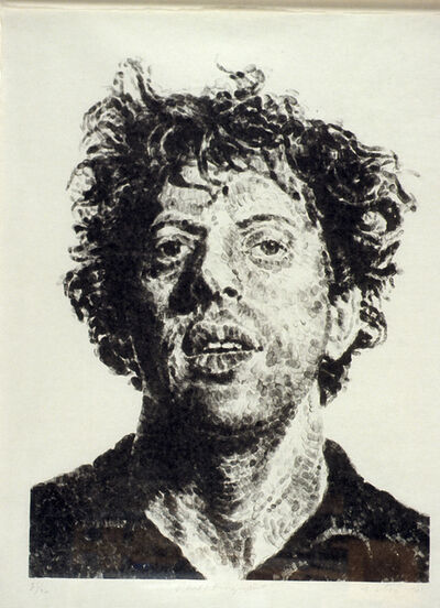 Chuck Close, 'Phil/Fingerprint', 1981