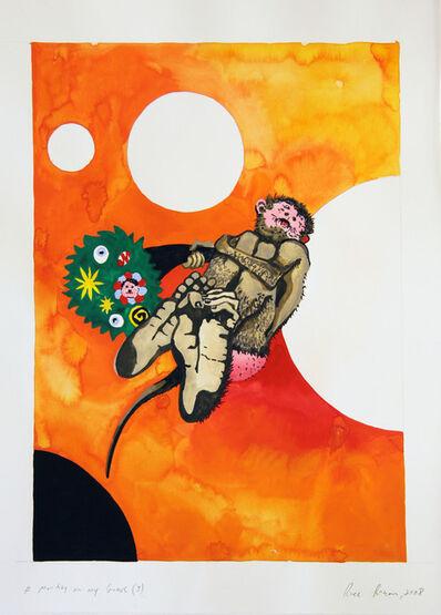 Roee Rosen, 'A monkey on my grave (1)', 2008