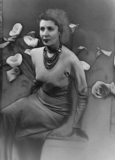 Ilse Bing, 'Baronne Van Zuylen', 1943