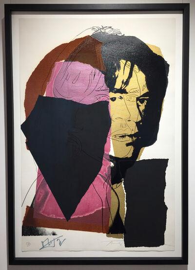 Andy Warhol, 'Mick Jagger (F&S II.139)', 1975