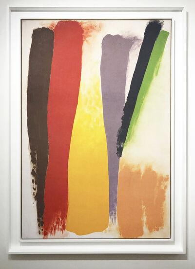 Friedel Dzubas, 'Center Yellow ', 1973