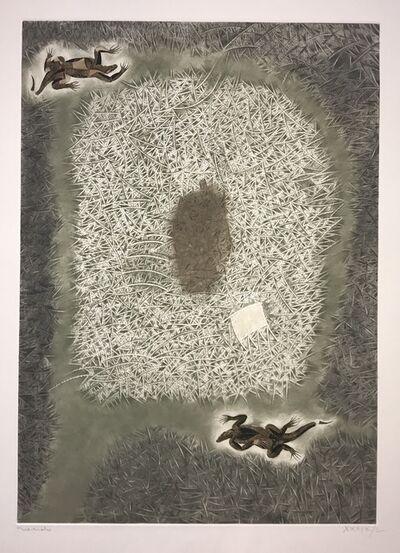 Francisco Toledo, 'Two Iguanas', 1985