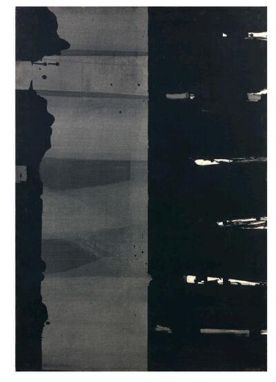 Pierre Soulages, 'Gouache sur papier, 108.5 x 74.5, 1977', 1977