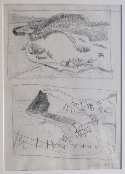 Milton Avery, 'Gaspe (2 Studies)', ca. 1938