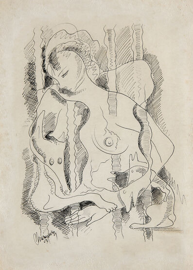 Carlos Enriquez, 'The Pretty Female Dog', 1943