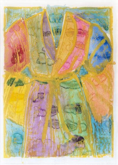 Jim Dine, 'Yellow Watercolors', 1993