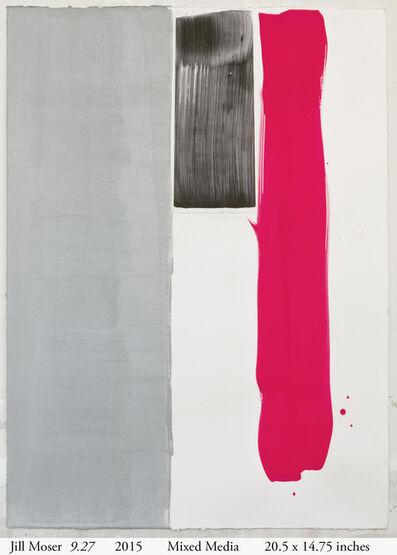 Jill Moser, '9.27', 2015