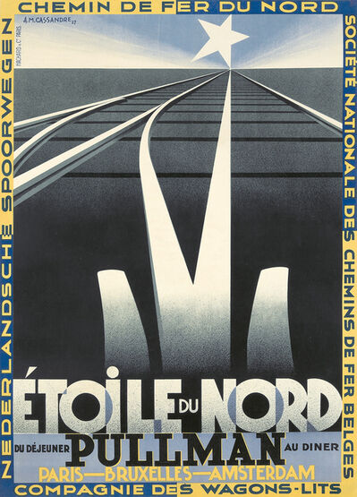 A.M. Cassandre, 'Etoile du Nord. ', 1927