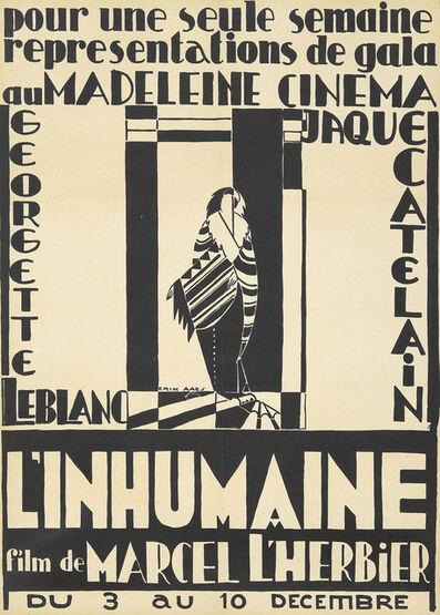 Erik Aaes, 'L'Inhumaine', 1924