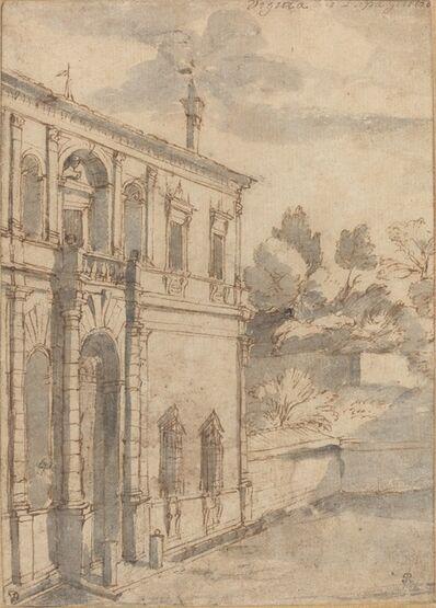 Claude Lorrain, 'Villa di Papa Giulio', ca. 1635