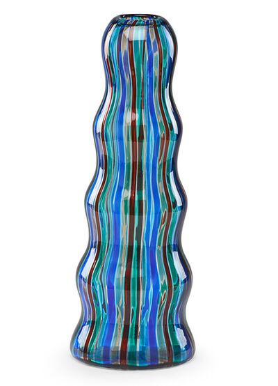 Alessandro Mendini, 'Alessandro Mendini For Venini Glass Vase', 1985