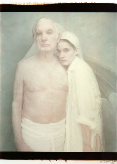Joyce Tenneson, 'Self Portrait with Old Man', 1986