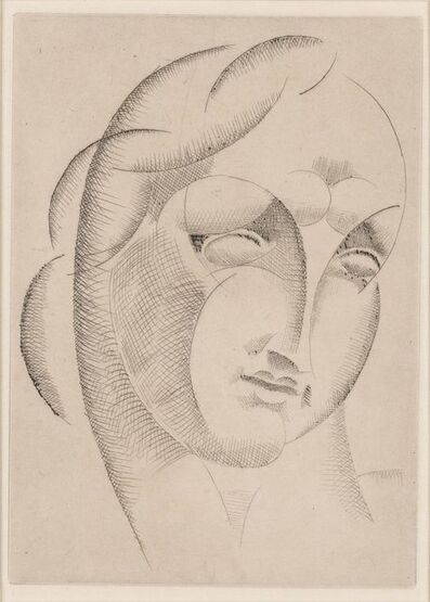 Elie Nadelman, 'WOMAN'S HEAD (K. 20)', 1920