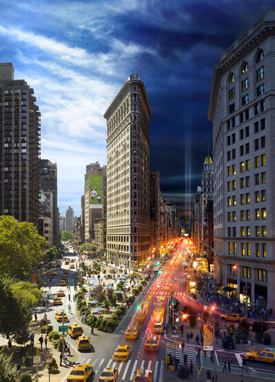Stephen Wilkes, 'Flat Iron, New York', 2010