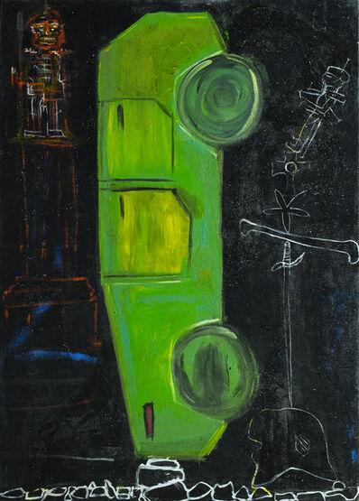 Wulf Treu, 'Car Totem, Green ', 2016