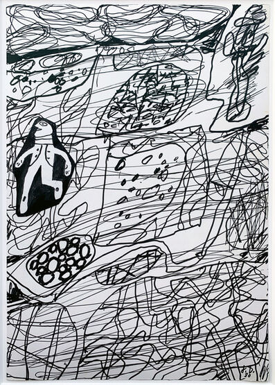 Jean Dubuffet, 'Paysage Chamanique Avec Un Personnage (D 372)', 1980
