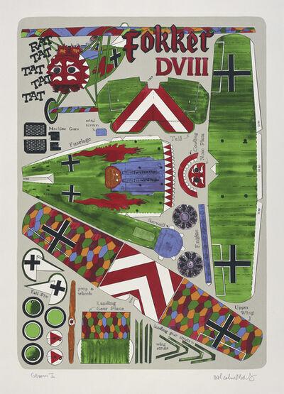 Malcolm Morley, 'Fokker DVIII', 2001