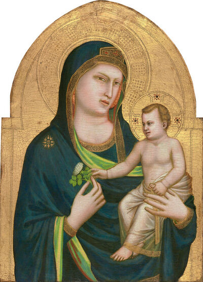 Giotto, 'Madonna and Child', Probably 1320/1330