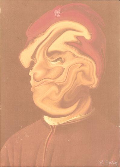 Pol Bury, 'D'Aprés Antonello De Messine (Série Des Ramolissements Virtuels)', 2001