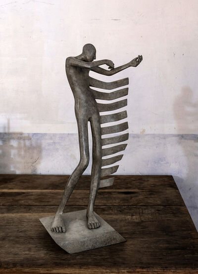 "Isabel Miramontes, '""Rock my Heart"" - Bronze, Emotion, Sensation, Balance, Creativity, Elegance, Music, Violin, Violinist', 2018"