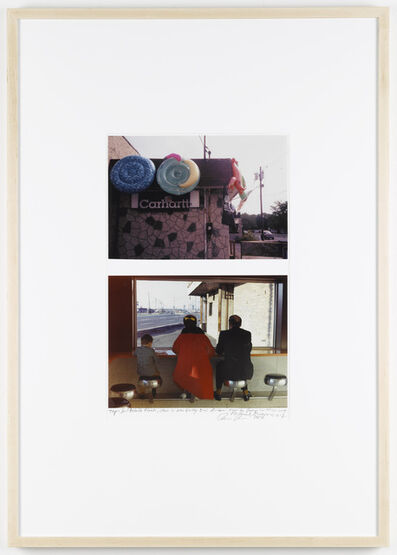 Dan Graham, 'Inflatable Floats, Store in New Jersey (2006), Family Group in Highway Restaurant, Bayonne N.J. (1967) ', 2006