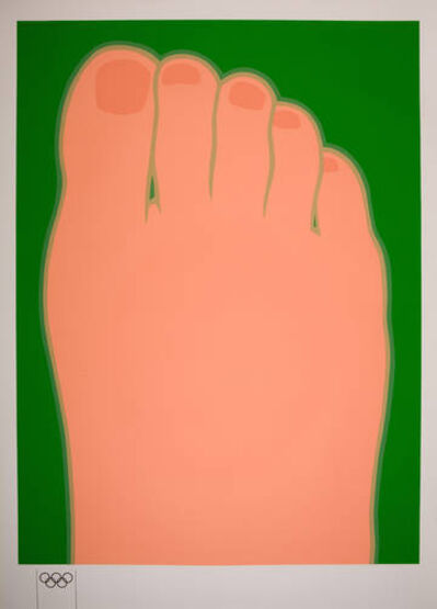 Tom Wesselmann, 'Big foot', 1970