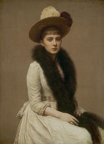 Henri Fantin-Latour, 'Portrait of Sonia', 1890