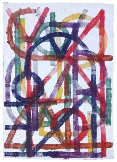 Elijah Burgher, 'BotD (White Rainbow)', 2015
