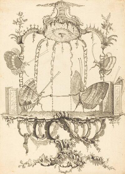 Charles Germain de Saint-Aubin, 'Le Duel', in or after 1756