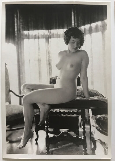 Albert Arthur Allen, 'Untitled Nude (From The Boudoir Series, no. 2)', 1916-1930