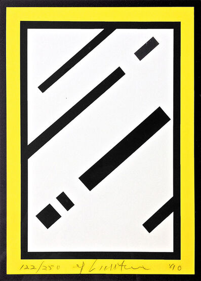 Roy Lichtenstein, 'Mirror', 1990