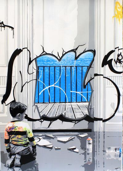 Kurar, 'Magritte Vandalism', 2018