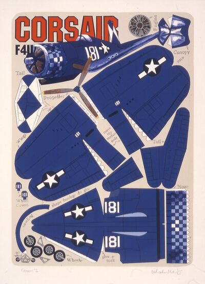 Malcolm Morley, 'Corsair F4U', 2001
