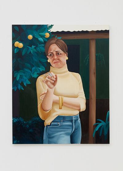 Madeleine Pfull, 'Smoker I', 2018