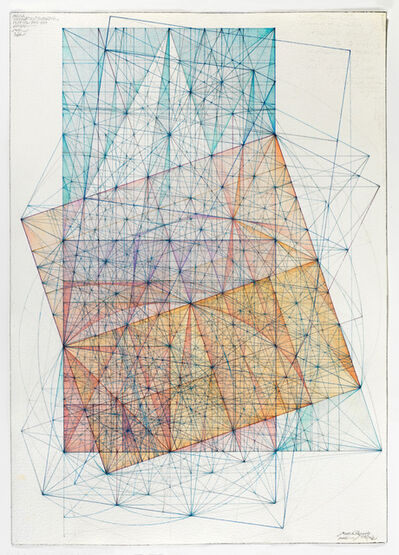 Mark Reynolds, 'Minor Third Series: Transitions from Diagonal and Half-diagonal, 1.13', 2013