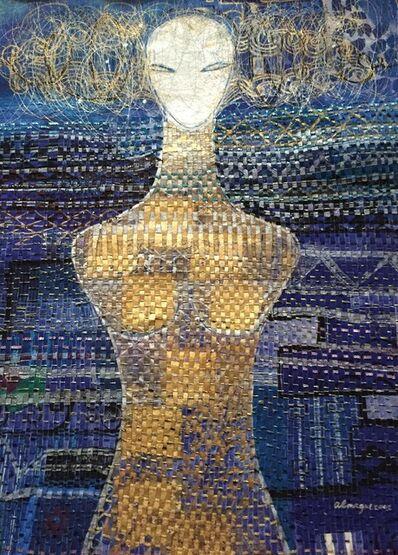 Almagul Menlibayeva, 'Turkestan Girl (from the series Mystical Female Portrait)', 2002
