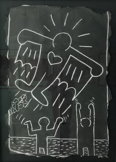 Keith Haring, 'Flying Devil', 1980s-1990s