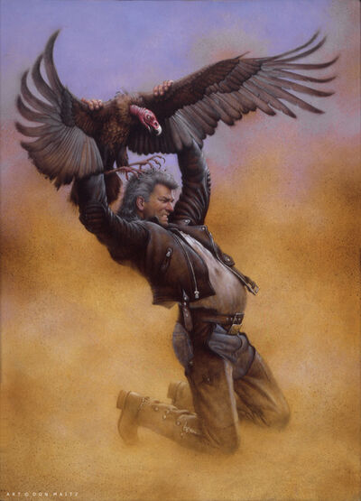 Don Maitz, 'Desperation - The Buzzard', 1995