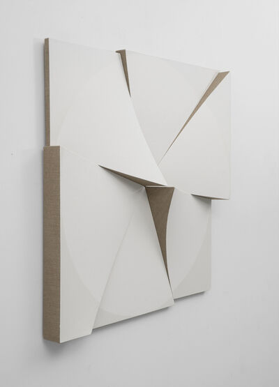 Jan Maarten Voskuil, 'Roundtrip Pointless White on White', 2018