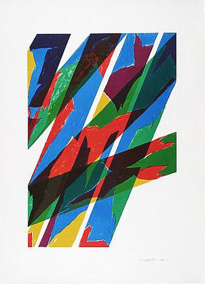 Piero Dorazio, 'Contrario', 1970