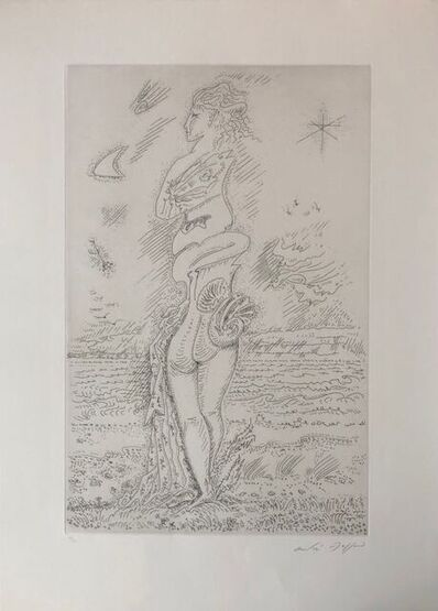 André Masson, 'The youth of Isis ', 1970