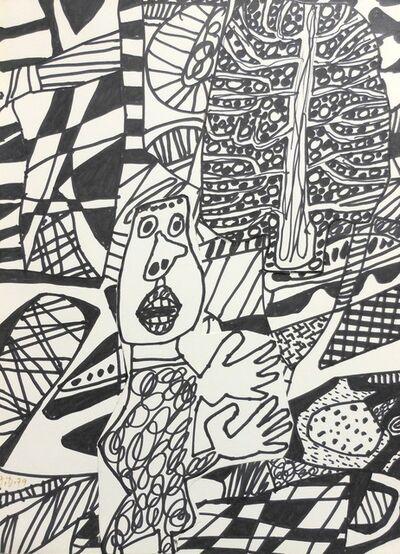 Jean Dubuffet, 'Situation XCI (à l'arbre)', 1979