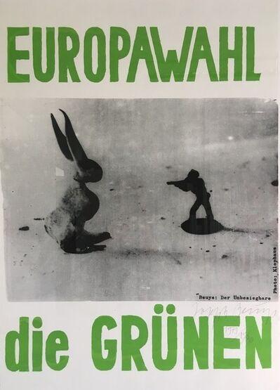 Joseph Beuys, 'Der Unbesiegbare', 1979