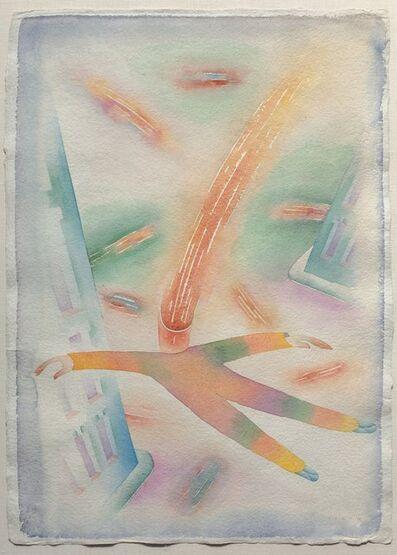 Jean Michel Folon, 'Pensees', 1981