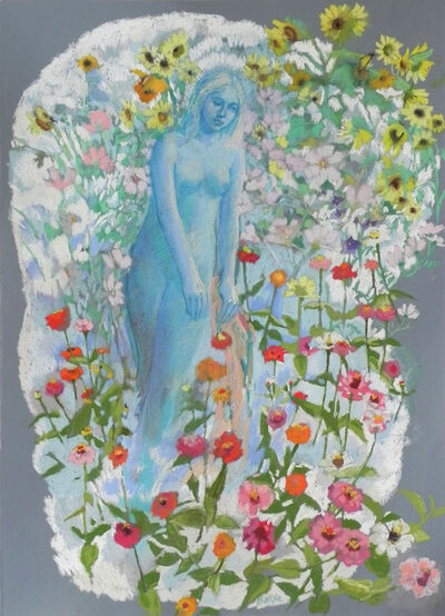 Teresa Baksa, 'In a Garden of Flowers', 2015