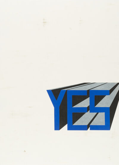 Todd Norsten, 'Yes #2', 2017