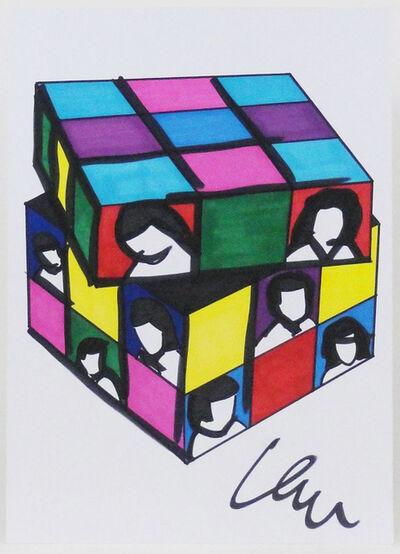 Marco Lodola, 'Rubik's cube', 2010-2019