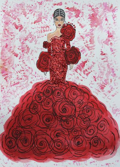 Aria Carter, 'Rouge Valentina', 2021